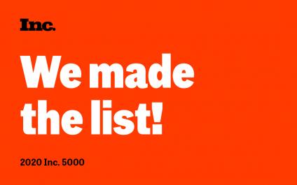 Inc. 5000 Award 2020