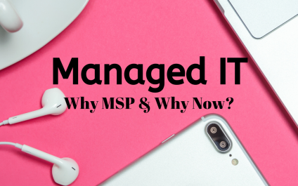 Get a Step Ahead | Why a Managed IT Service Provider & Why Now?