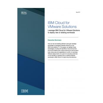 VMware on IBM Cloud