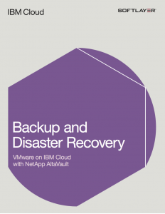 Backup and Disaster Recovery – VMware on IBM Cloud