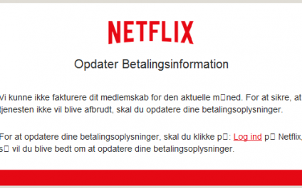 Netflix At No Charge Scam