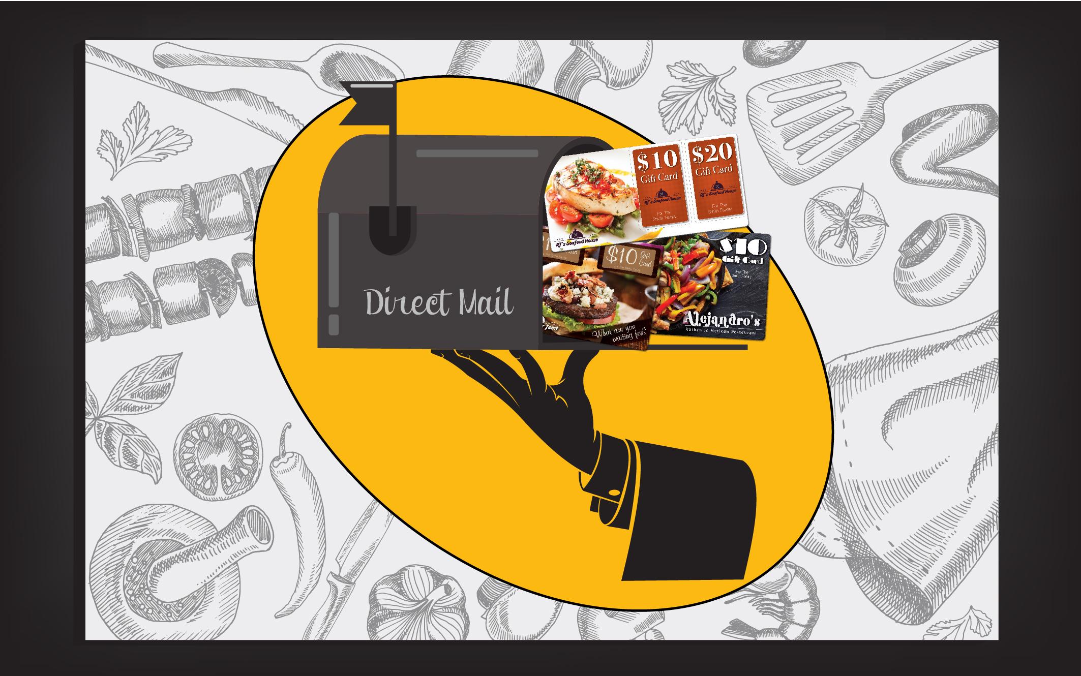 direct mail marketing restaurants