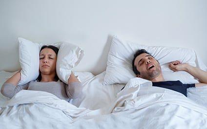 นอนกรนผิดปกติหรือไม่