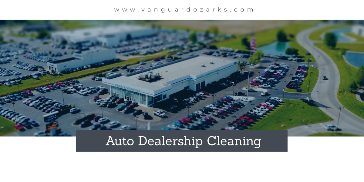 Auto Dealership Cleaning