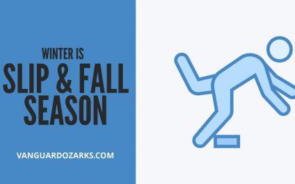 Winter is Slip and Fall Season