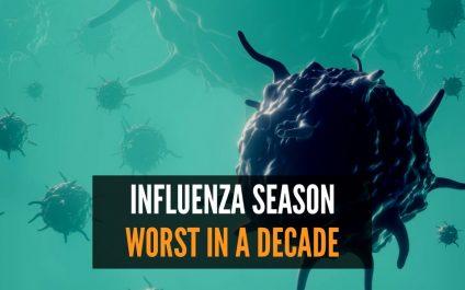 2019-2020 Influenza Season Worst in a Decade