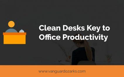 Clean Desks Key to Productivity