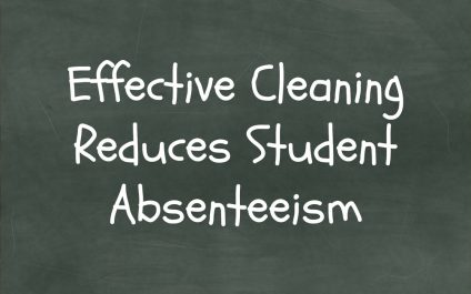 Effective Cleaning Reduces Student Absenteeism