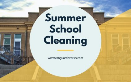 Summer School Cleaning