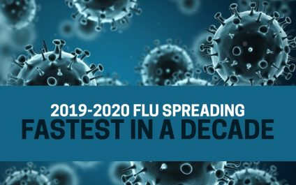 2019-2020 Flu Spreading Fastest in a Decade