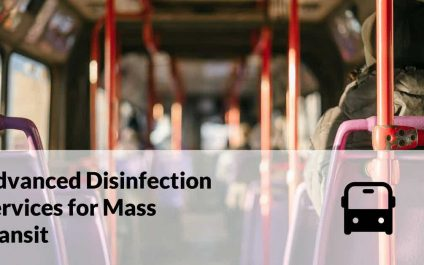 Advanced Disinfection Services for Mass Transit