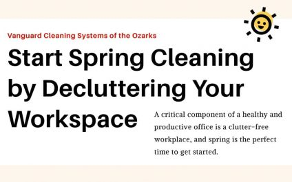 Start Spring Cleaning by Decluttering Your Workspace