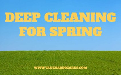 Deep Cleaning for Spring