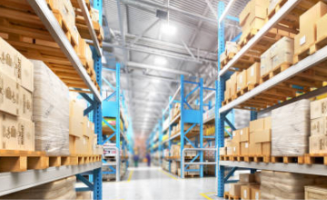 Large Distributor Warehouse