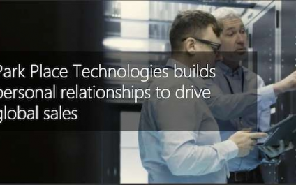 Customer Story: Park Place Technologies builds personal relationships to drive global sales