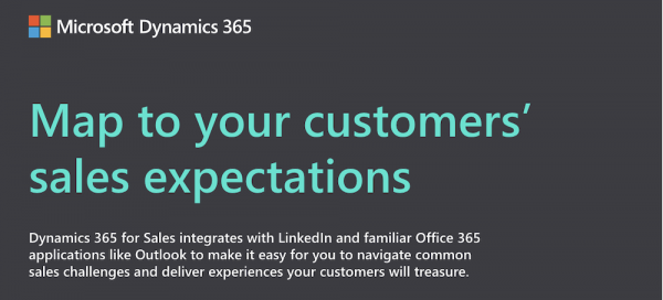 Map to Your Customers' Sales Expectations