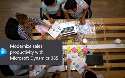 Modernize and empower sales teams with Microsoft Dynamics 365 for Sales Professionals