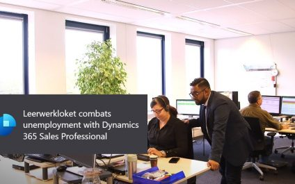 Leerwerkloket combats unemployment with Dynamics 365 Sales Professional