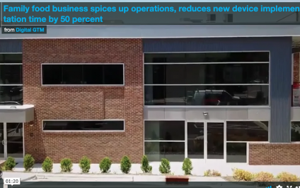 Family food business spices up operations, reduces new device implementation time by 50 percent