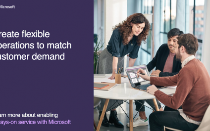 Create flexible operations to match customer demand