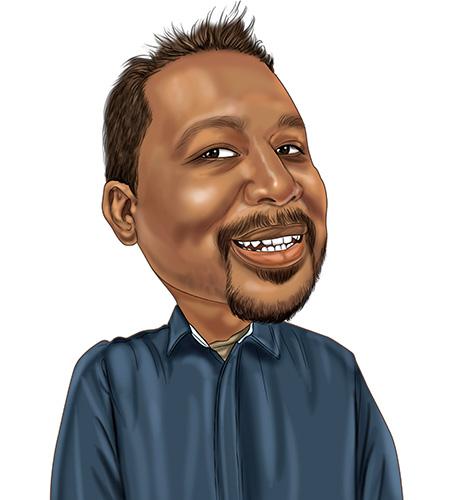 Michael-caricature