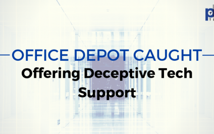 Office Depot Caught Offering Deceptive Tech Support