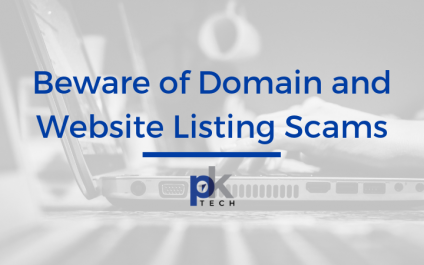 Beware of Domain Listings and Website Listing Service Scams