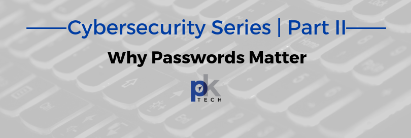 Cybersecurity Series | Part II: Why Passwords Matter