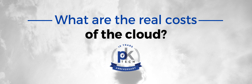 What Are the Real Costs of the Cloud?