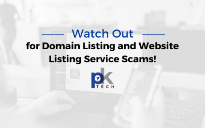 Watch Out for Domain Listing and Website Listing Service Scams!