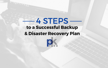 4 Steps to a Successful Backup & Disaster Recovery Plan