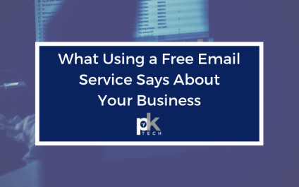 What Using a Free Email Service Says About Your Business