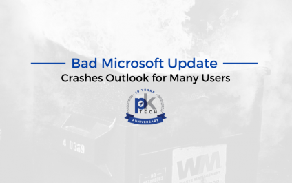 Bad Microsoft Update Crashes Outlook for Many Users