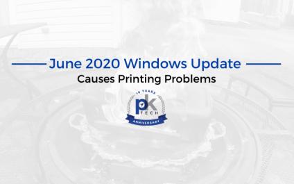 June 2020 Windows Update Causes Printing Problems
