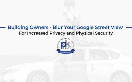 Building Owners – Blur Your Google Street View For Increased Privacy and Physical Security