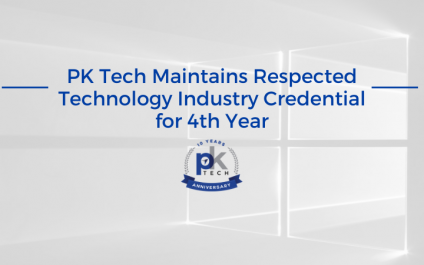 PK Tech Maintains Respected Technology Industry Credential for 4th Year