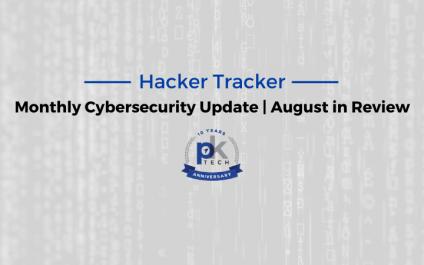 Hacker Tracker | August in Review