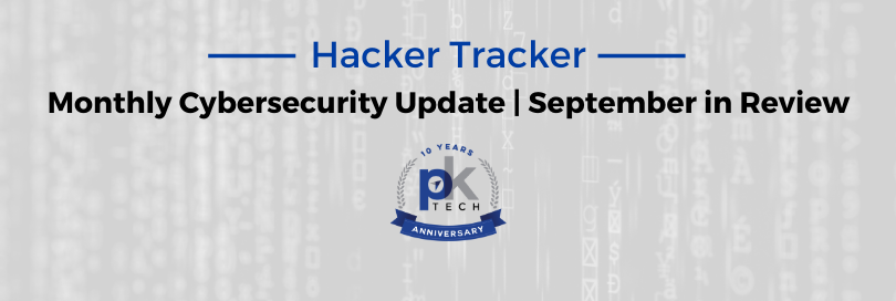 Hacker Tracker   September in Review