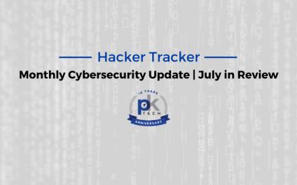 Hacker Tracker | July in Review