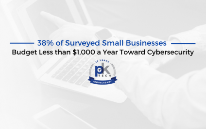 38% of Surveyed Small Businesses Budget Less than $1000 a Year Toward Cybersecurity