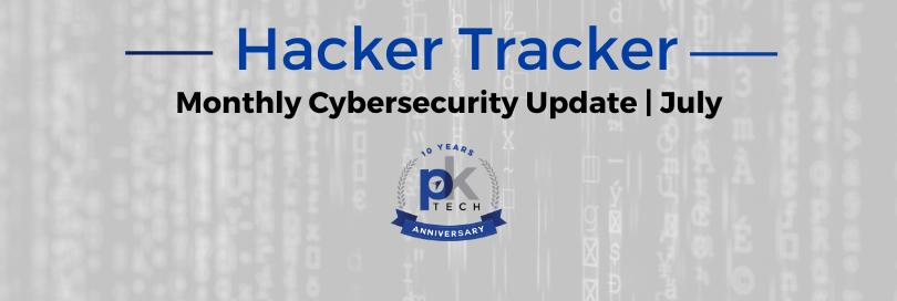 Hacker Tracker | July