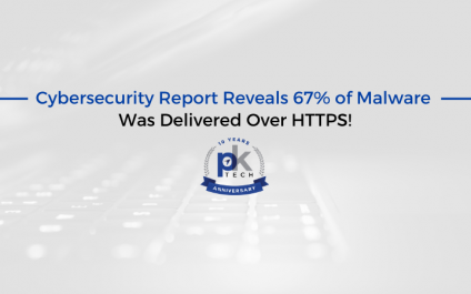 Cybersecurity Report Reveals 67% of Malware Was Delivered Over HTTPS!