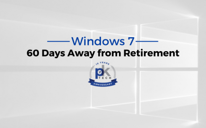 Windows 7 is Less Than 60 Days Away from Retirement