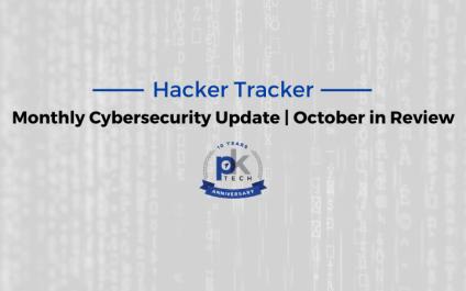 Hacker Tracker   October in Review