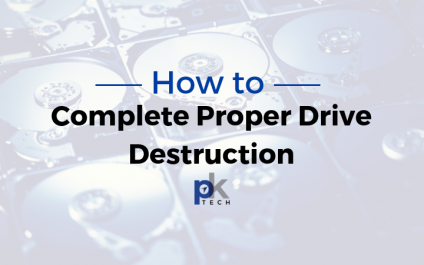 How to Complete Proper Computer Drive Destruction