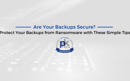 Are Your Backups Secure? Protect Your Backups from Ransomware with These Simple Tips