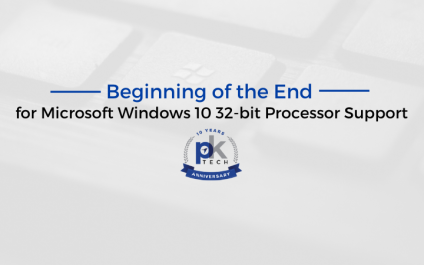 Beginning of the End for Microsoft Windows 10 32-bit Processor Support