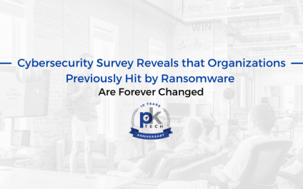 Cybersecurity Survey Reveals that Organizations Previously Hit by Ransomware Are Forever Changed