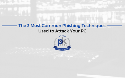 The 3 Most Common Phishing Techniques Used to Attack Your PC