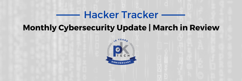 Hacker Tracker | March in Review